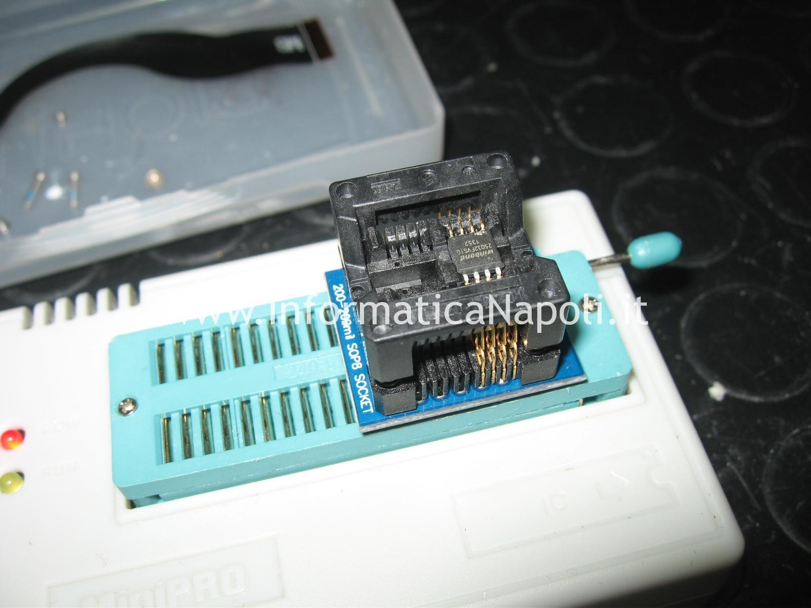 programmazione bios ripristino flash EC Dell XPS One 2710 chip winbond
