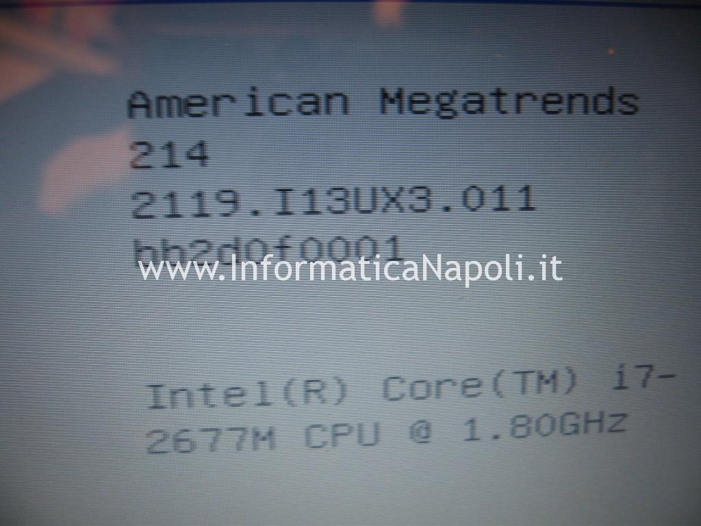 aggiornamento bios Asus zenbook UX31E