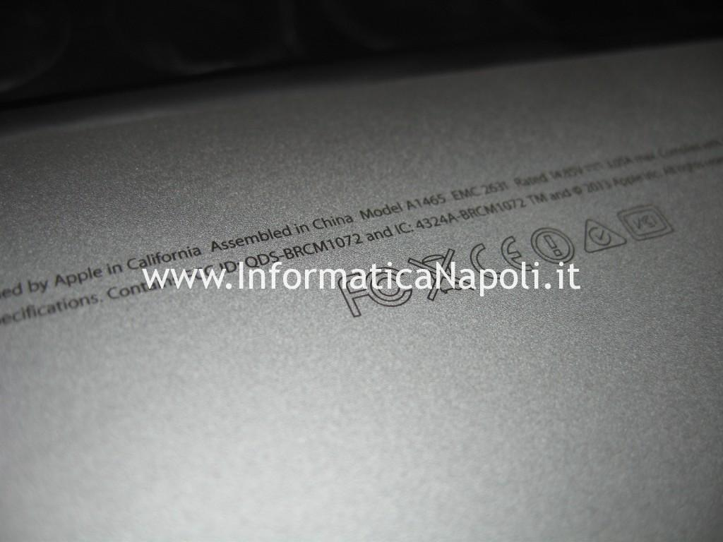 problemi acqua liquido Apple MacBook AIR 11 A1465 | A1370 EMC 2631