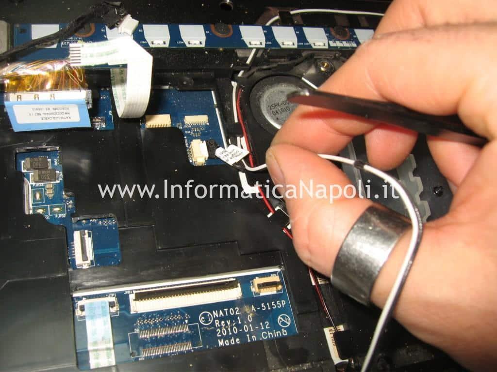 cavi antenna wifi Dell Studio 17 1749 ATI radeon 4650