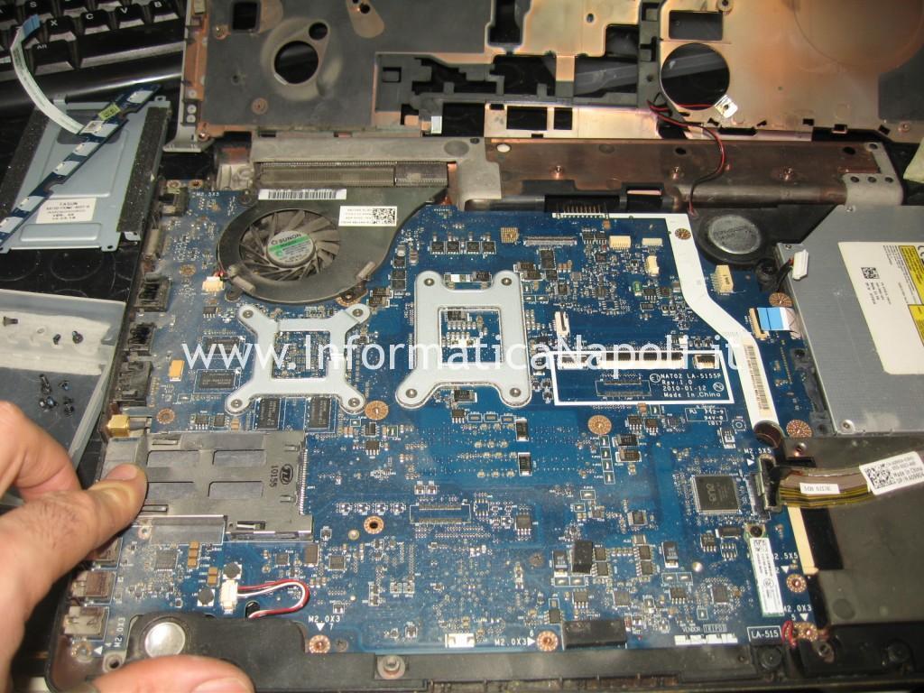problemi logic board motherboard Dell Studio 17 1749 ATI radeon 4650