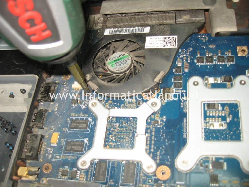 ventola fan Dell Studio 17 1749 ATI radeon 4650