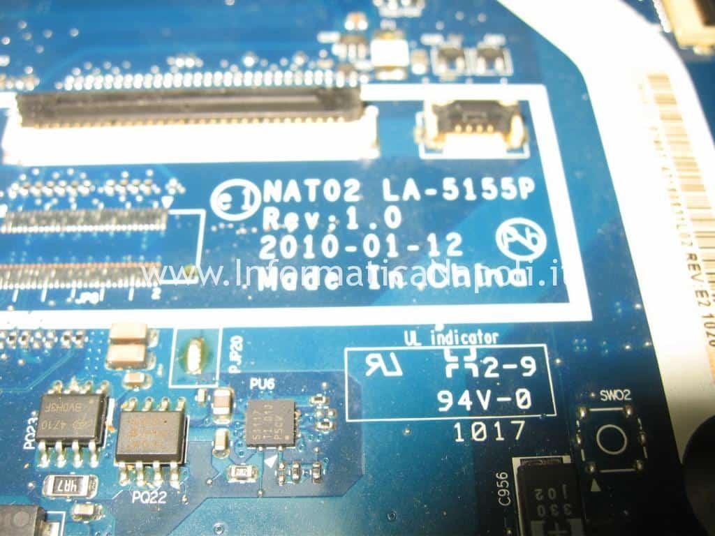 rework LA-5155P Dell Studio 17 1749 ATI radeon 4650