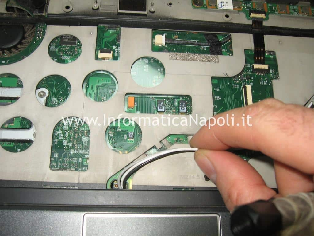 flat scheda rete Acer TravelMate 6293 LG1