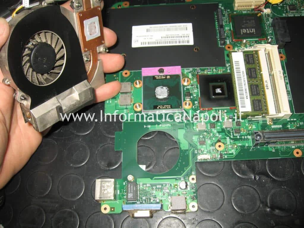 dissipatore ventola cpu Acer TravelMate 6293
