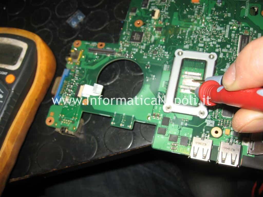 installazione condensatori 330uf nec tokin nectokin Acer TravelMate 6293