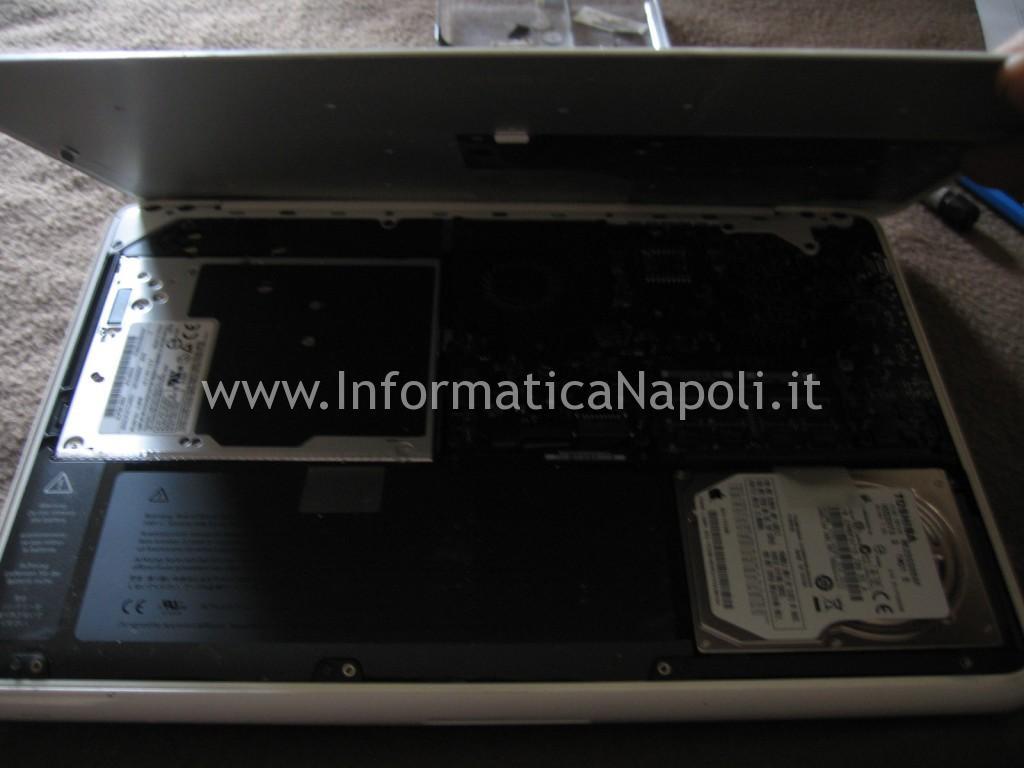 come riparare Apple MacBook A1342 EMC 2350