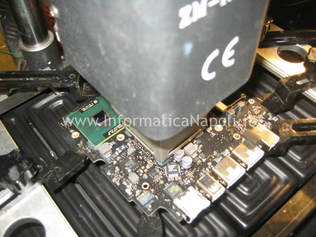 rework reball nVidia Apple MacBook A1342 13.3 EMC 2350
