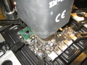 rework reball nVidia Apple MacBook A1342 13.3 EMC 2350