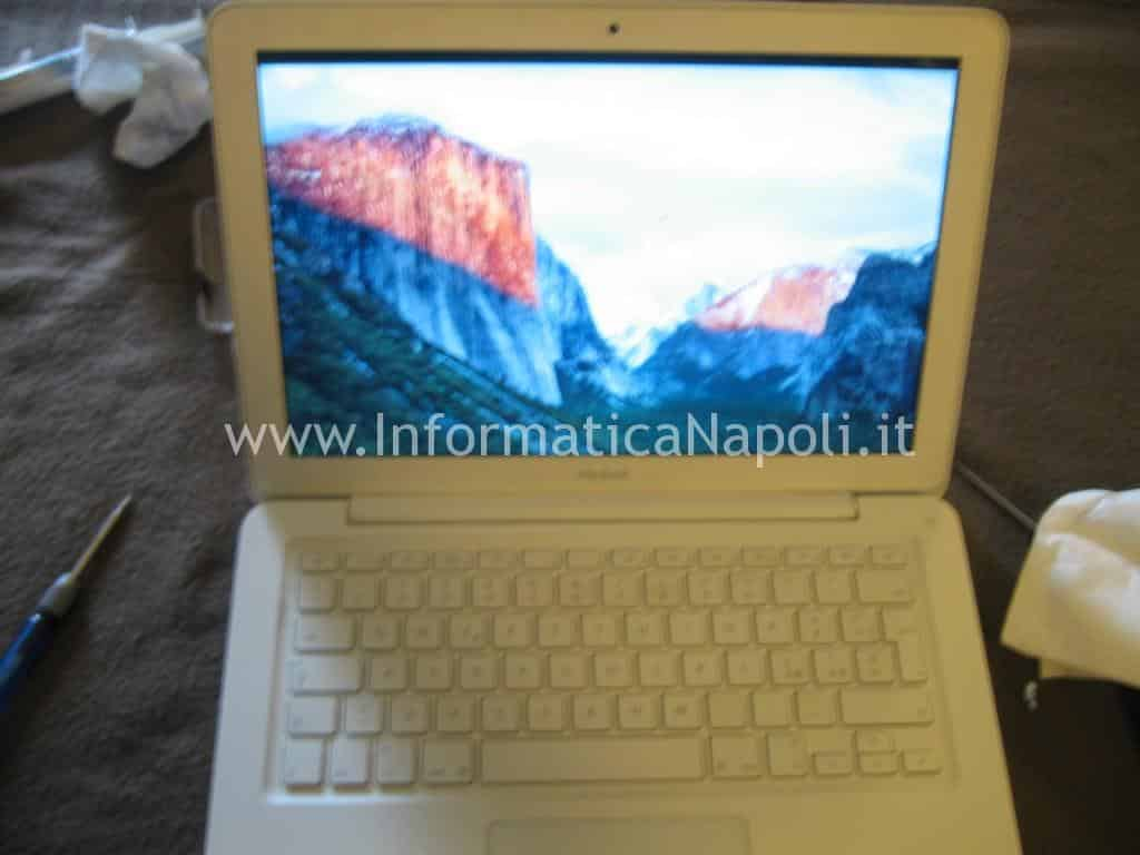 Apple MacBook A1342 13.3 EMC 2350 riparato funzionante