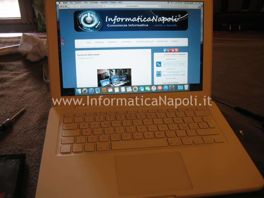 assistenza riparazione Apple MacBook A1342 13.3 EMC 2350
