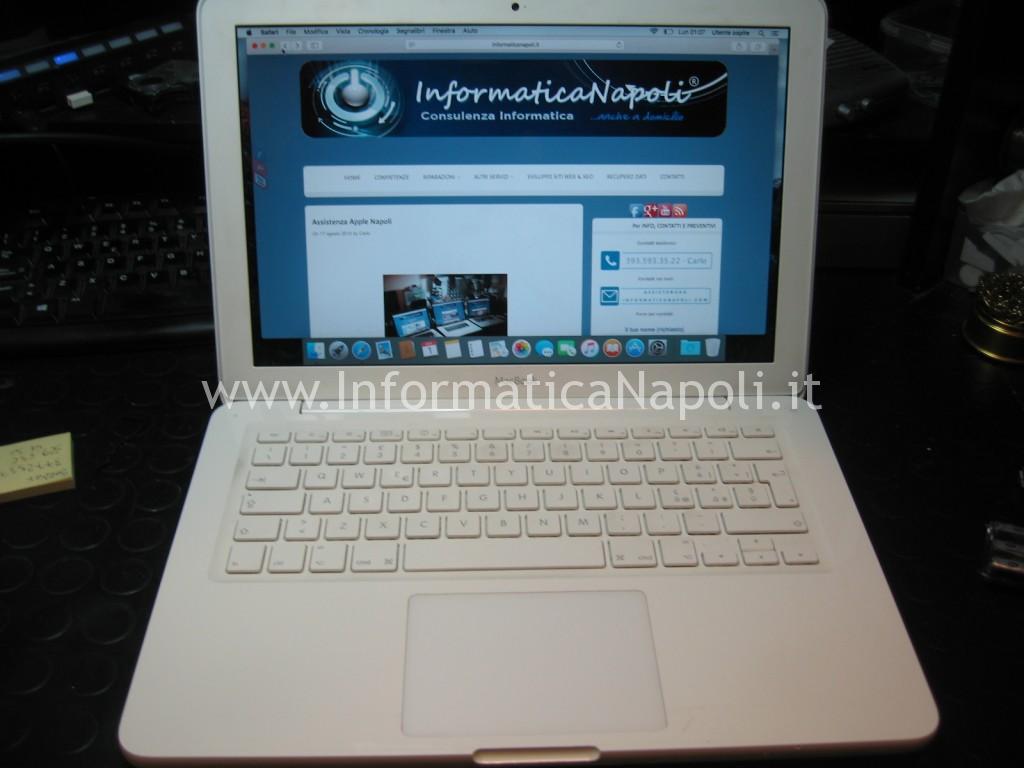 come riparare video Apple MacBook A1342 13.3 EMC 2350