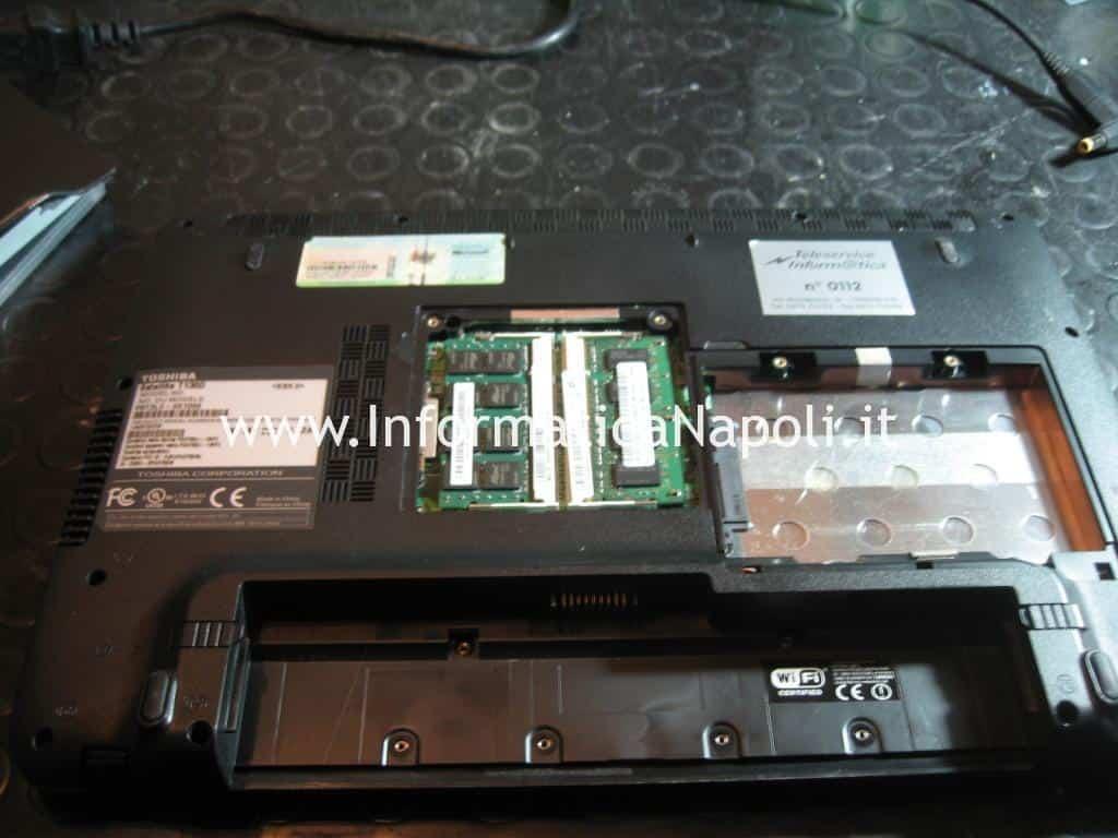 come riparare Toshiba Satellite T130D
