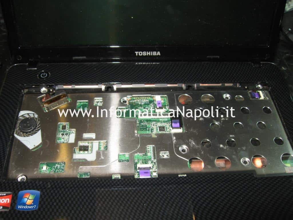 Problema chip video Toshiba Satellite T130 D