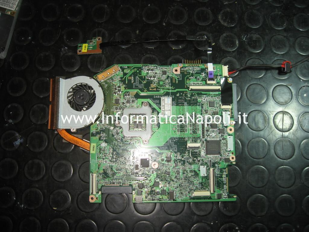 rework scheda madre chip video Toshiba Satellite T130D PST3LC