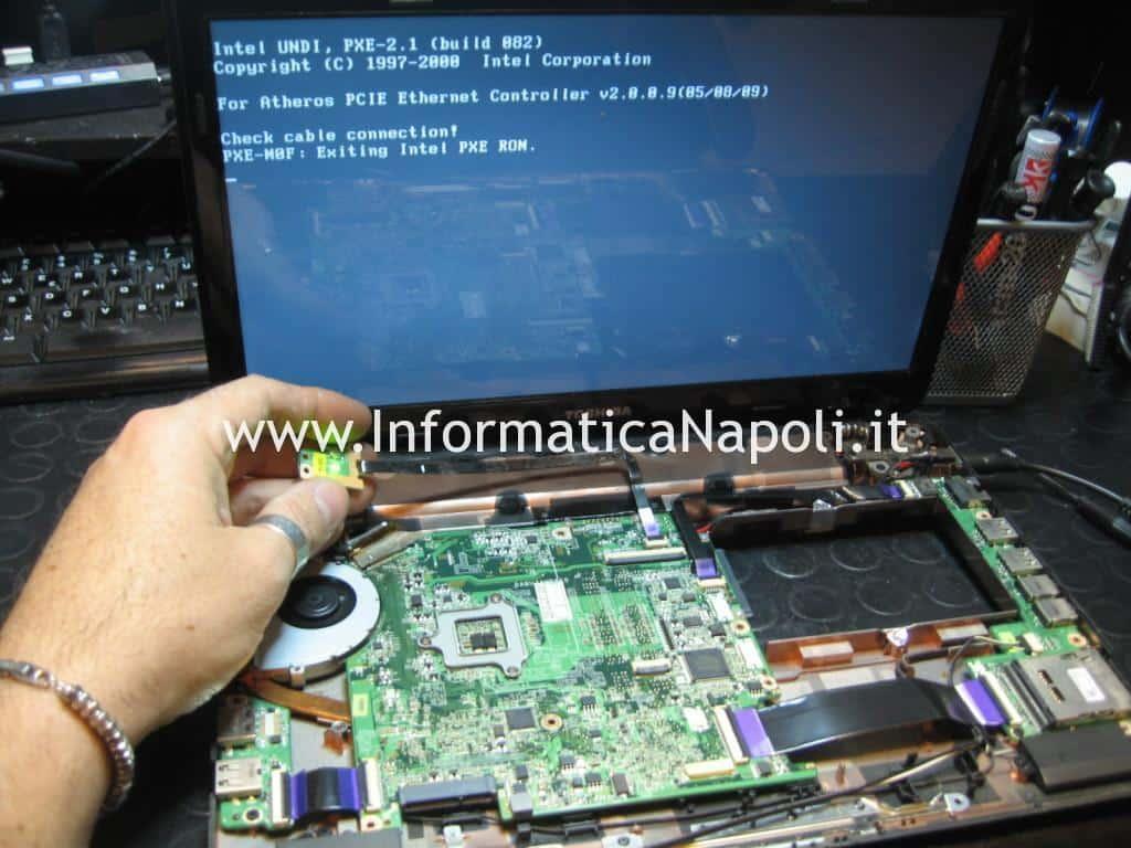 Toshiba Satellite T130D funzionante