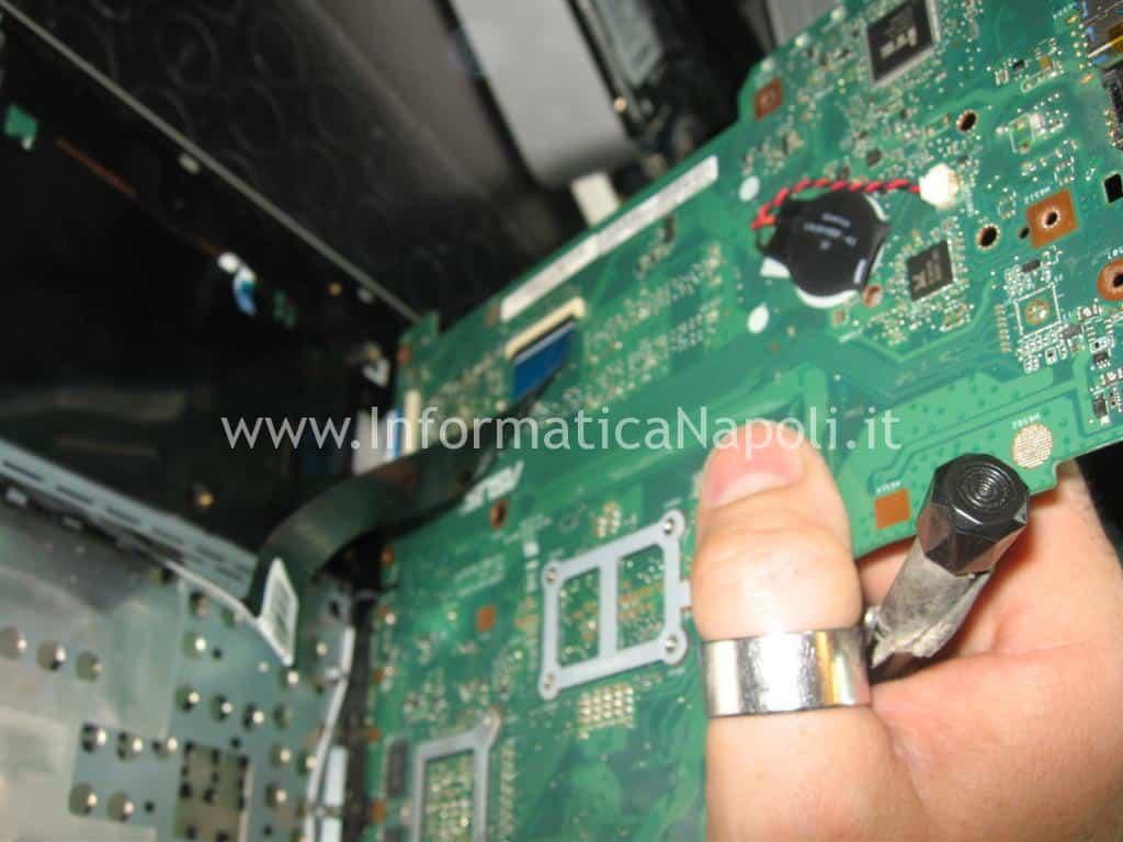 come riparare scheda madre ASUS A56C K56CB A56CB XX174H