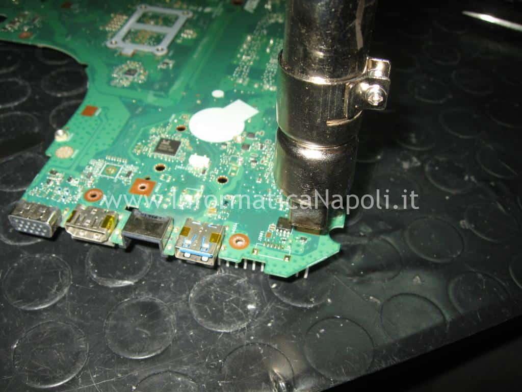 riparazione scheda madre ASUS K56 K53 K52 K55 K56CB K56CA K56CM