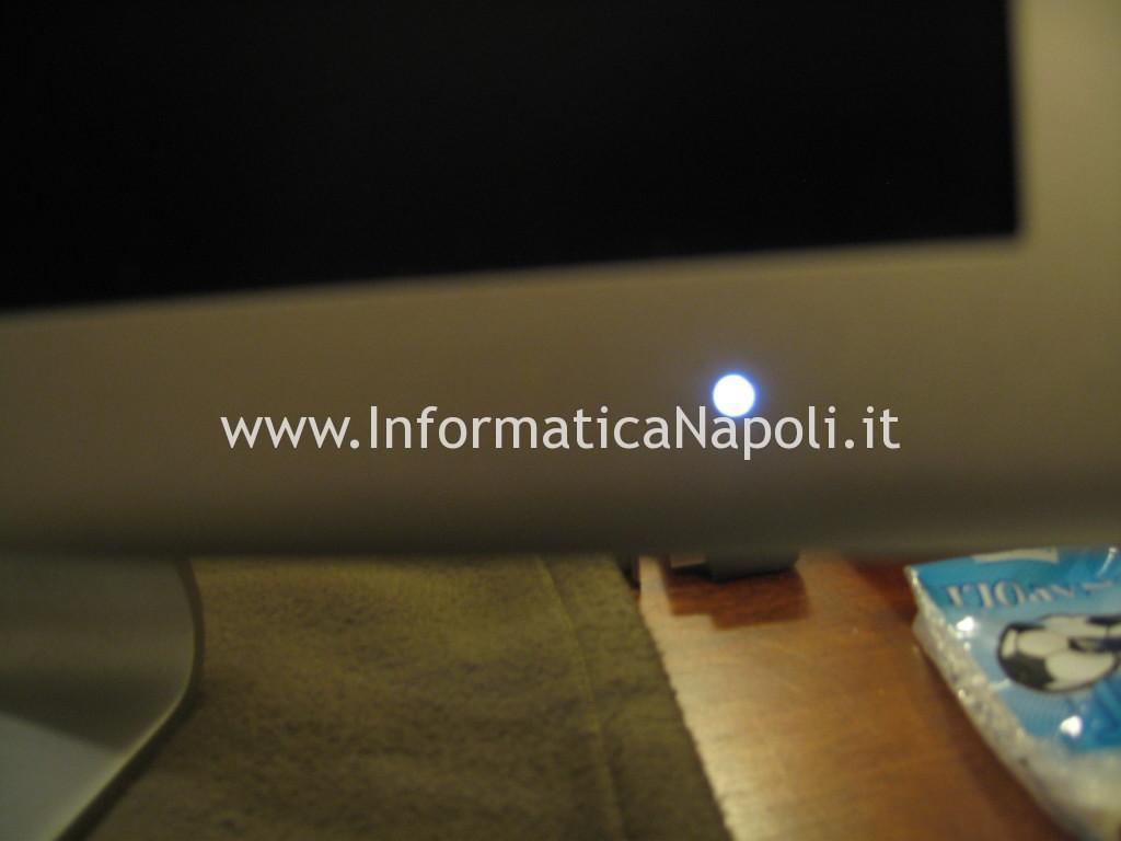 Apple Cinema Display A1082 EMC 2010 schermo nero led bianco