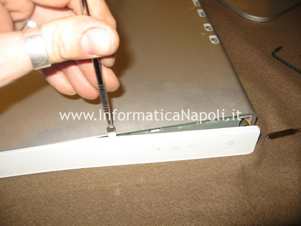 pulsantiera laterale Apple Cinema Display A1082