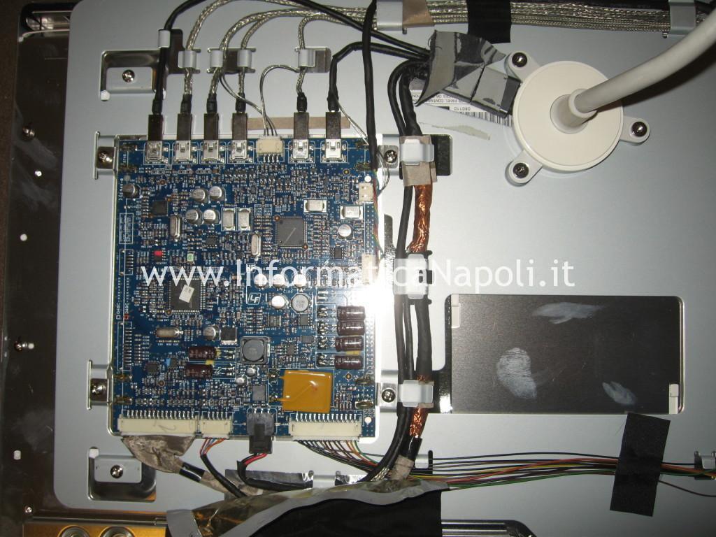 riparazione scheda madre alimentatore Apple Cinema HD Display A1082
