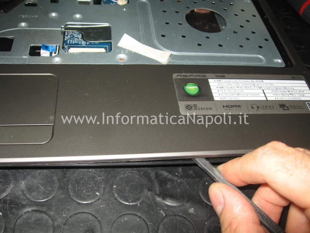 riparazione Acer aspire 5560