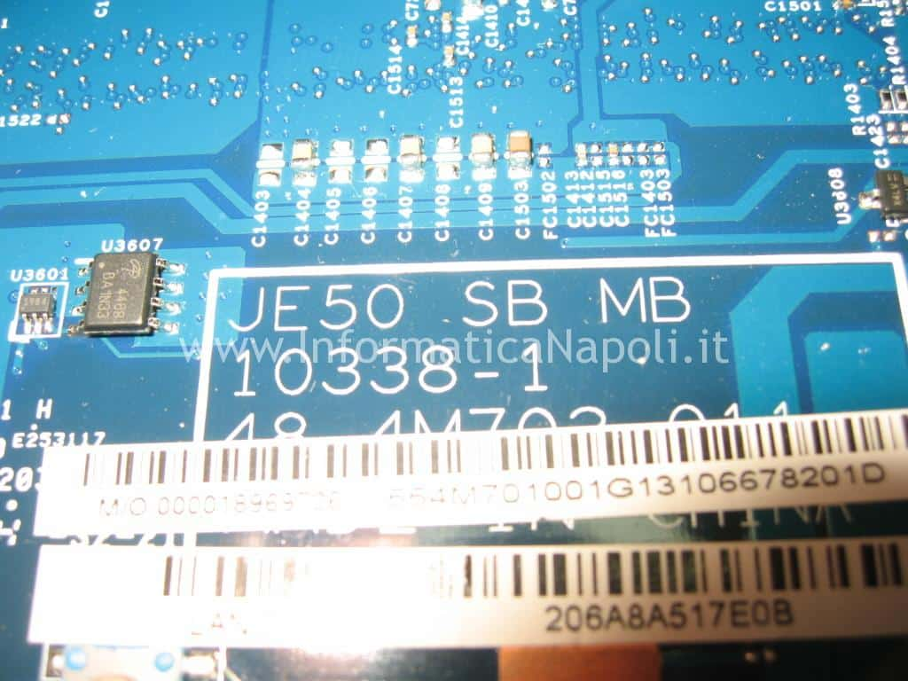 scheda madre JE50 SB MB Acer aspire 5560