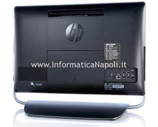 come riparare HP ENVY 23 TouchSmart black screen