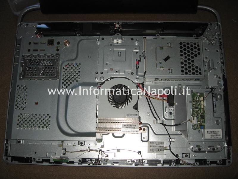 HP ENVY 23 TouchSmart black screen