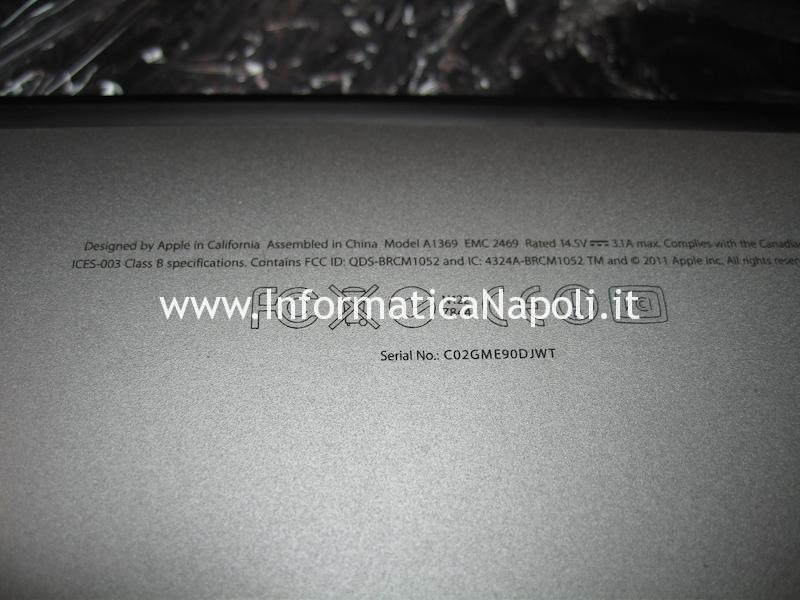 problema tastiera Apple MacBook Air 13 A1369 EMC 2469