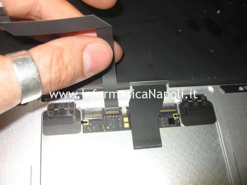 flat tastiera touch pad Apple MacBook air 13 A1369