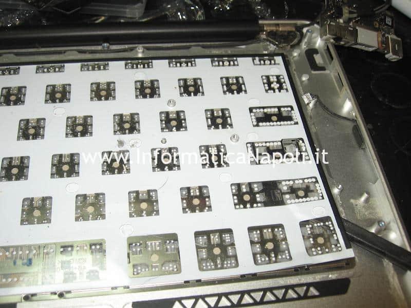 riparazione tastiera Apple MacBook air 13 A1369