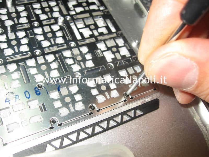 montare nuova tastiera Apple MacBook air 13 A1369