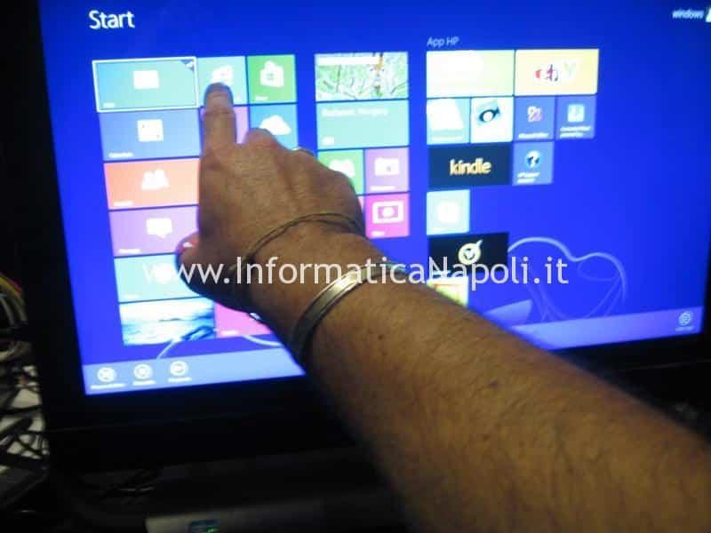 HP ENVY 23 TouchSmart AIO PC 23-d001el 23-d018d riparato
