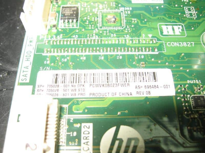 scheda madre HP TouchSmart eeprom spansion s25flo64k