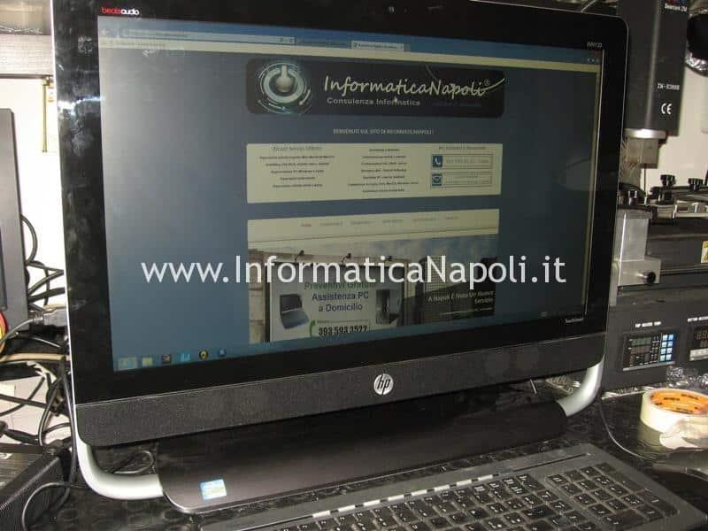 assistenza riparazione HP ENVY 23 TouchSmart AIO PC 23-d001el 23-d018d