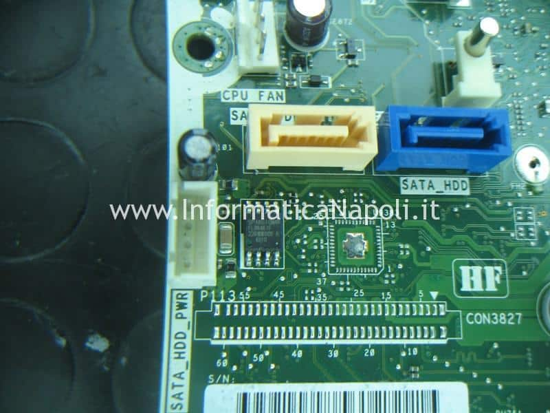 HP TouchSmart 23 eeprom spansion s25flo64k problema bios