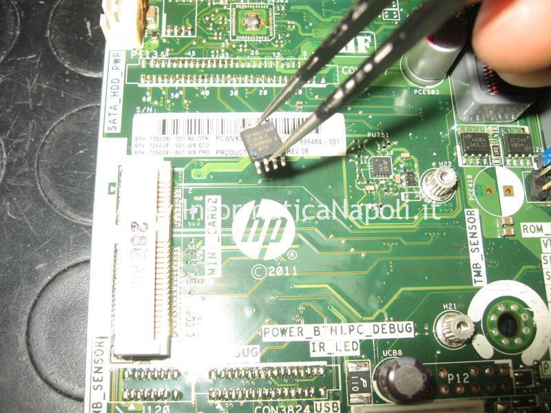 HP TouchSmart 23 che non si accende