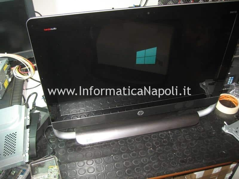 assistenza HP TouchSmart 23 problemi accensione