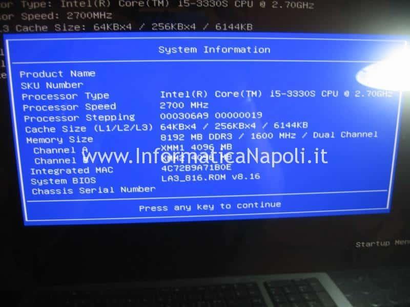 HP envy TouchSmart 23 funzionante
