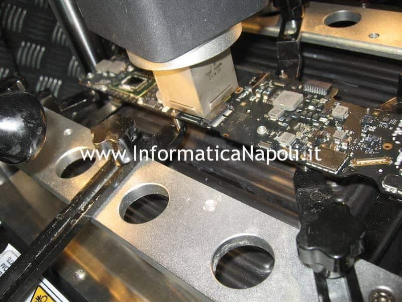 riparazione scheda logica video Apple MacBook Air 13 A1369 EMC 2469 mid 2011