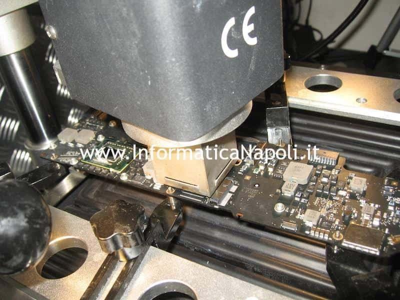 reballing gpu ram video Apple MacBook Air 13 A1369 EMC 2469 mid 2011
