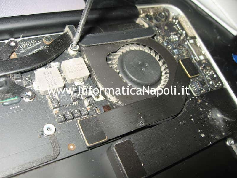 fan ventola Apple MacBook Air 13 A1369 EMC 2469 mid 2011