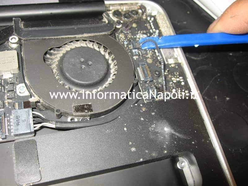 flat audio Apple MacBook Air 13 A1369 EMC 2469 mid 2011