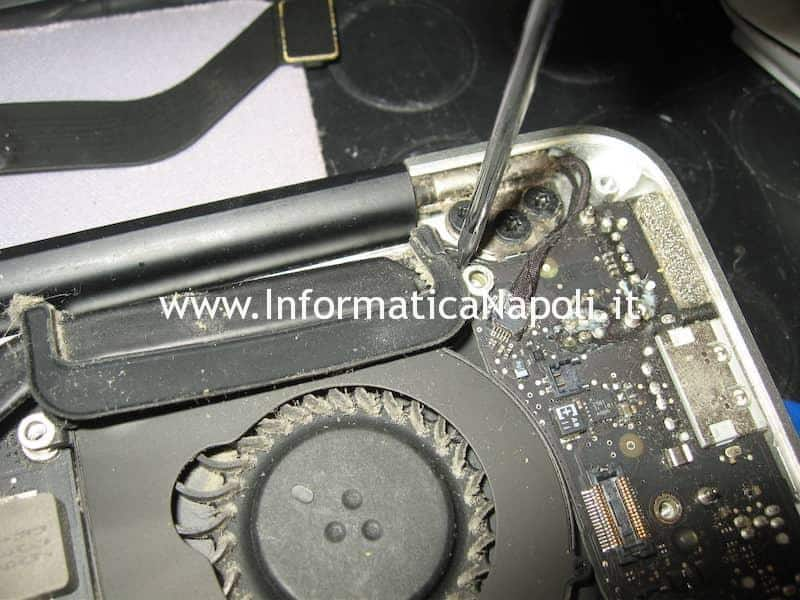 dissipatore CPU GPU Apple MacBook Air 13 A1369 EMC 2469 mid 2011