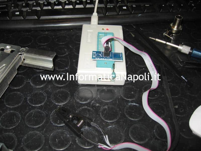 ripristino bios Apple iMac A1224 eeprom EFI