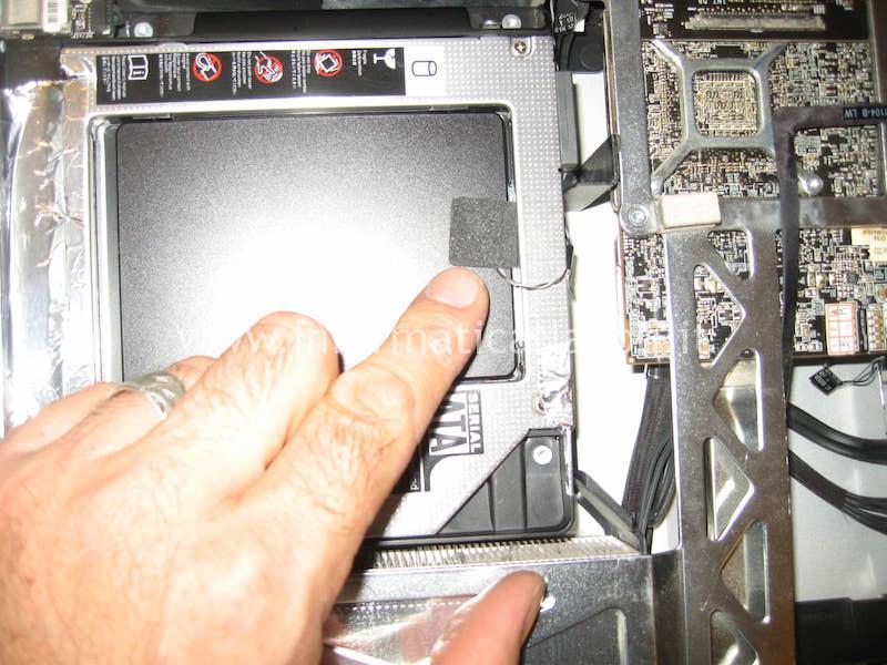 come sostituire HDD con un SSD Apple imac 27