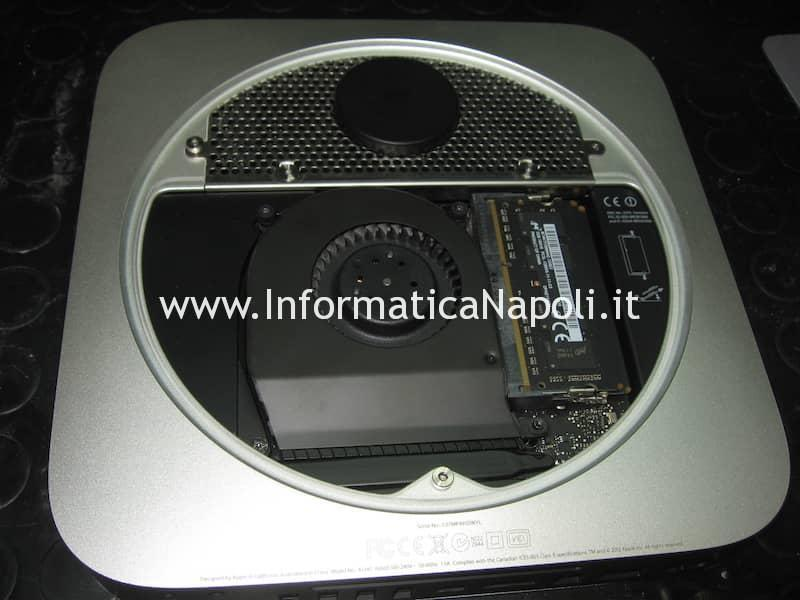 problema video Apple Mac Mini Late 2012 A1347 Mobile Intel HM77 Express Chipset BD82HM77