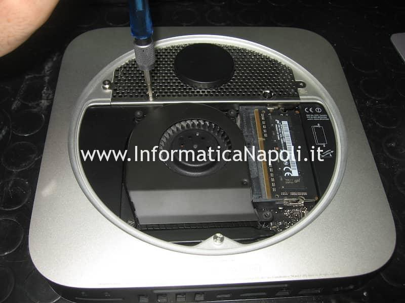 Problema chime loop bong avvio Apple Mac Mini Mac A1347 Intel HD 4000