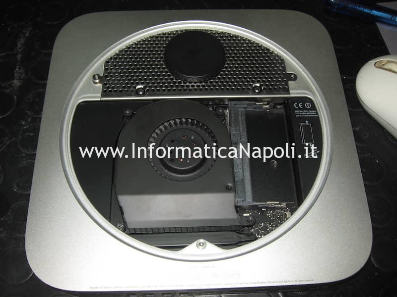 come riparare Apple Mac Mini Mac A1347 Intel HD 4000 con suono ripetuto all'avvio